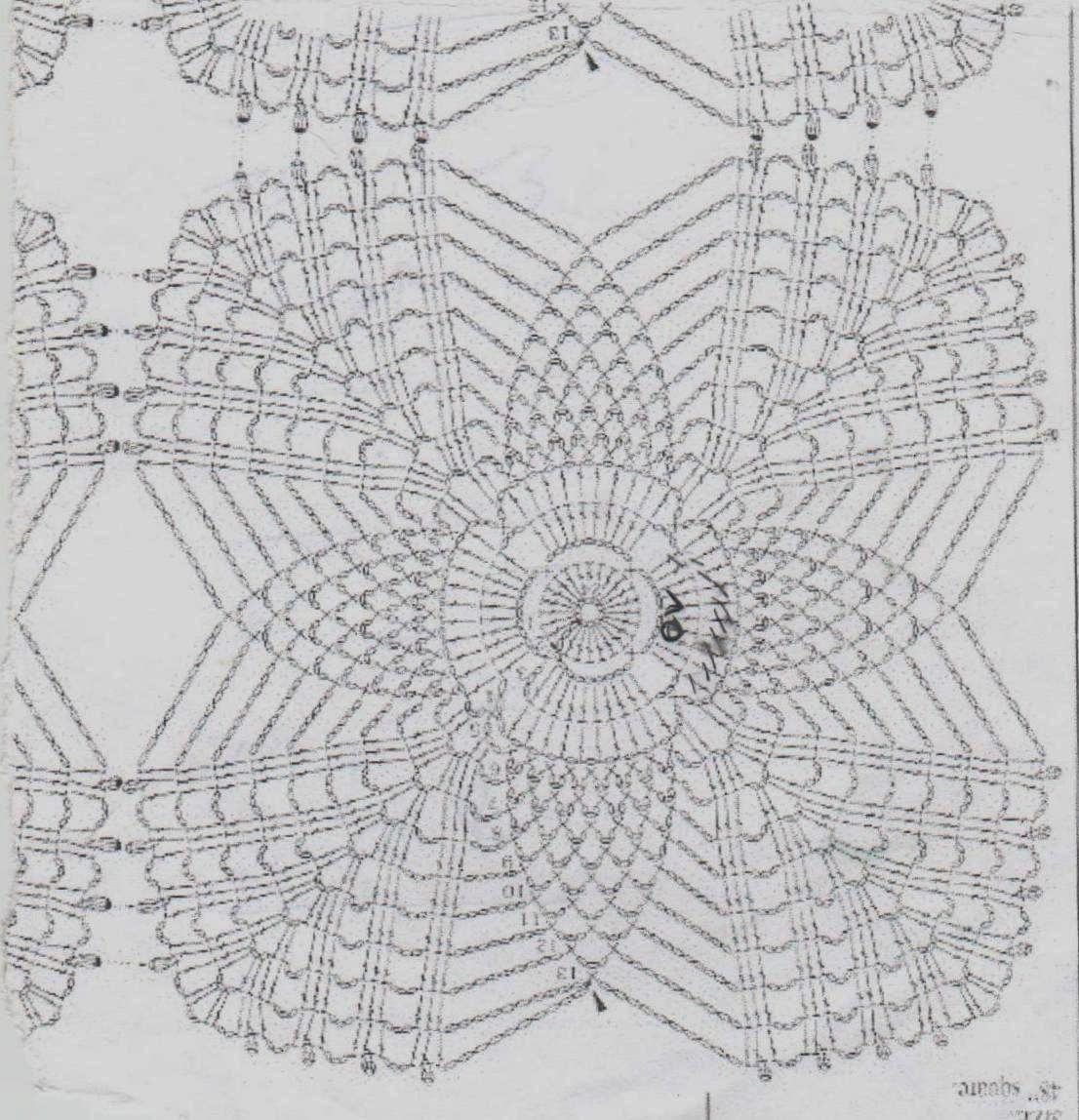 Kirini ručni radovi | Patrones crochet | Pinterest | Cuadrados ...