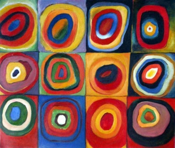 Wassily Kandinsky Painting, 100% Hand-painted on Canvas by ...