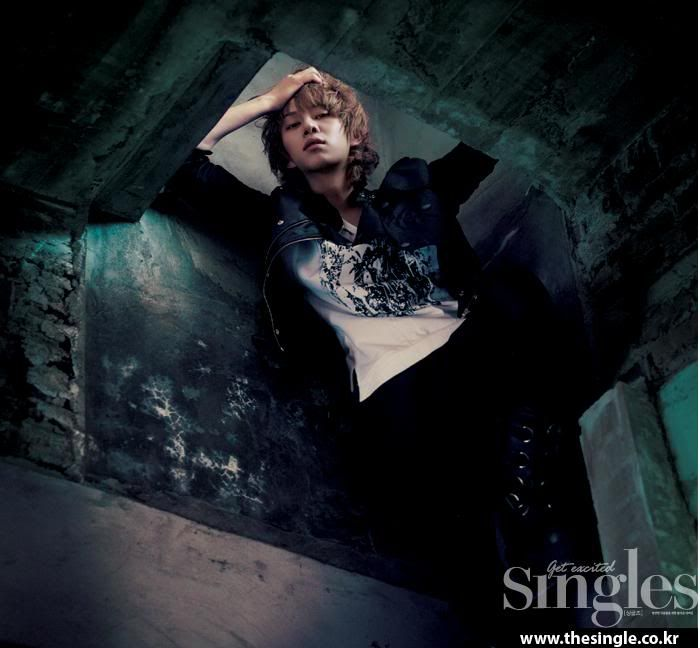 Kim Heechul (this picture fits his confident personality) from SuJu