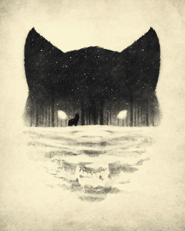 Fox and Forest illustration by Dan Burgess