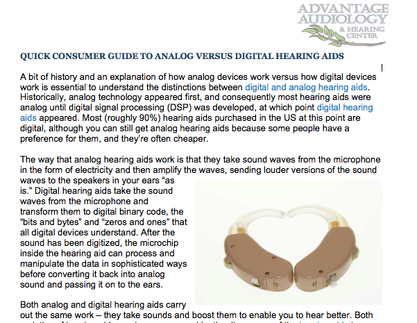 Pin On Advantage Audiology Hearing Center News
