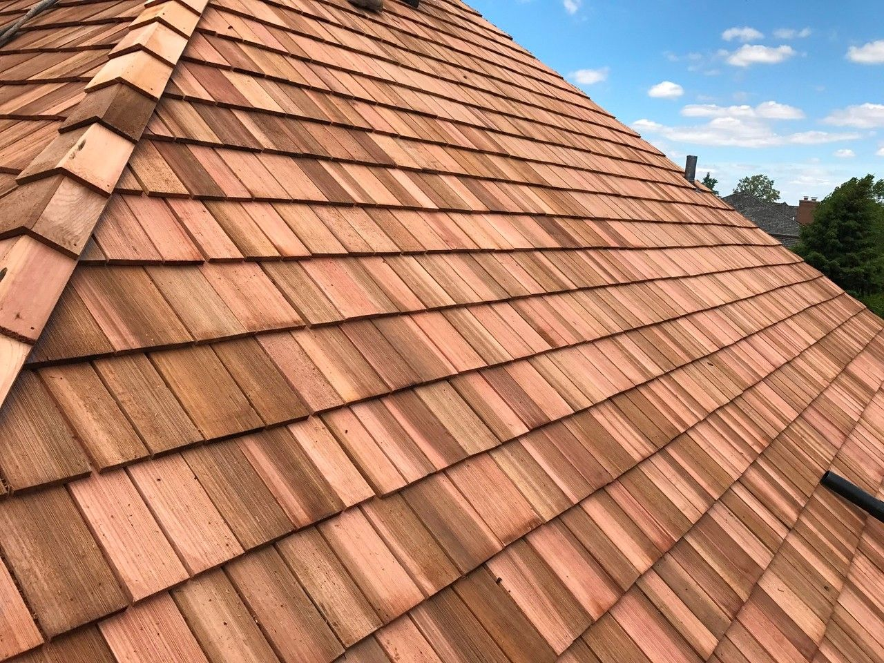Best Cedar Roofing Installation With Images Roofing 400 x 300