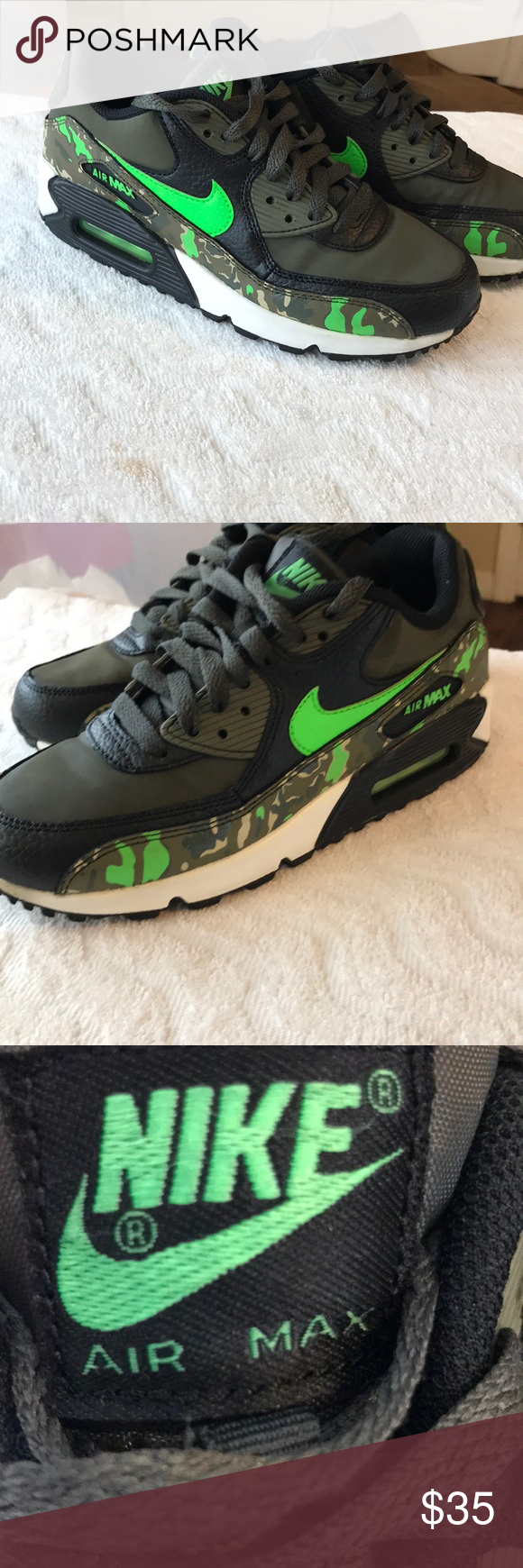 Nike Air Max 90 size 4.5 youth/men's 6