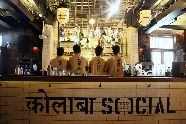 mumbai colaba social café opening Restaurants for