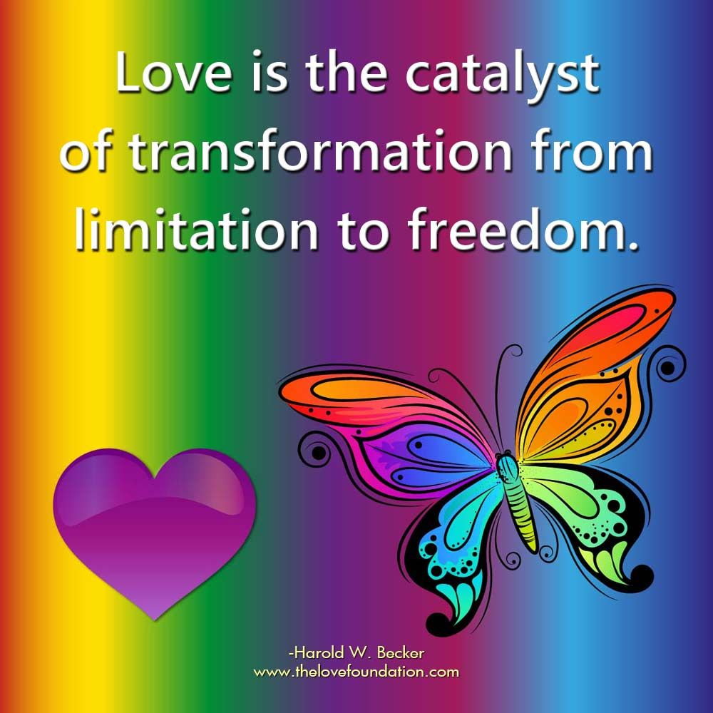Love is the catalyst of transformation from limitation to freedom. | Meaning  of true love, One line quotes, Inspirational quotes