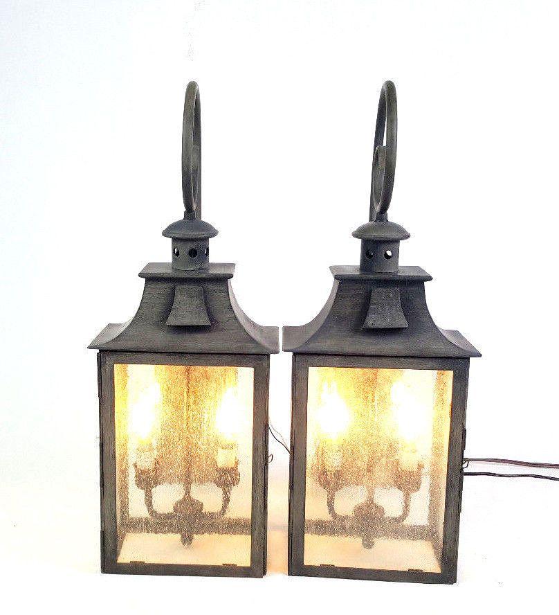 Light Outdoor Wall Lantern