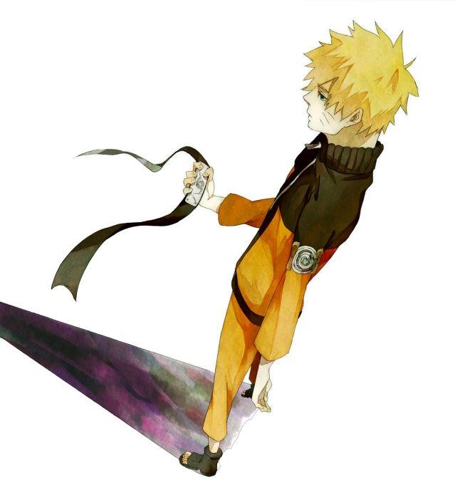 Uzumaki Naruto fan art shadow