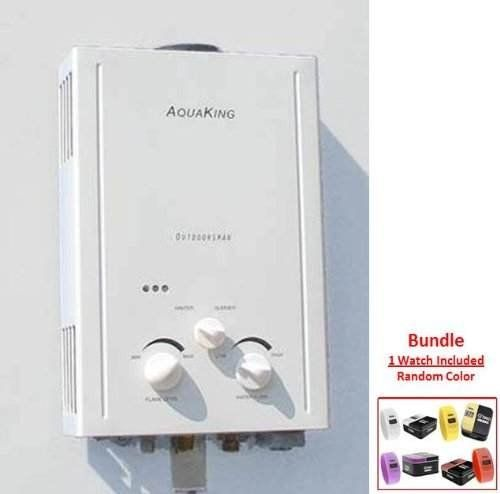 AquaKing L6 Portable Tankless Water Heater and Outdoor