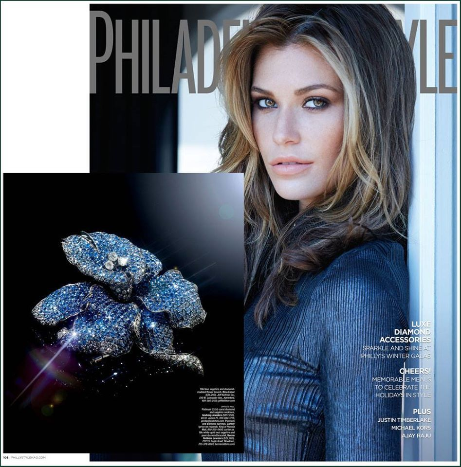 As seen in philadelphia style magazine holiday issue