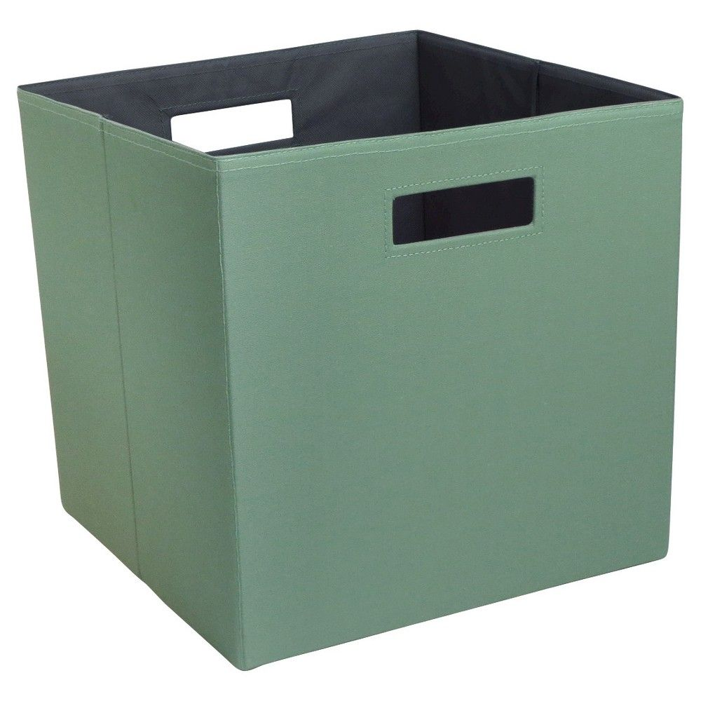 13 Fabric Cube Storage Bin Brown Threshold Fabric Storage Cubes Cube Storage Bins Cube Storage