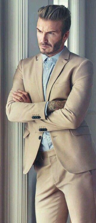 ~ †  David Beckham For GQ April 2016 Photo Shoot †