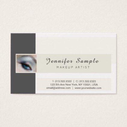 Makeup artist cosmetologist signature uv matte business card makeup artist cosmetologist signature uv matte business card professional gifts custom personal diy colourmoves
