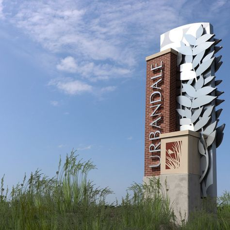 Dji6cltucaaymsm 1 200 1 200 Pixels Monument Signs Exterior Signage Architectural Signage