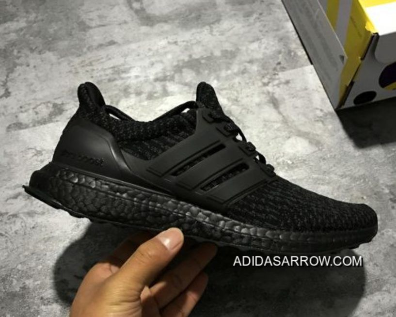 "Adidas Ultra Boost 3.0 ""Triple Black"" Discount in 2020"