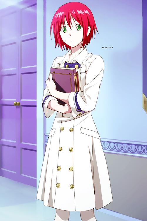 Photo of Akagami no Shirayuki-hime – Snow White with the Red Hair – Shirayuki #Akagami #H…,Akagami n…