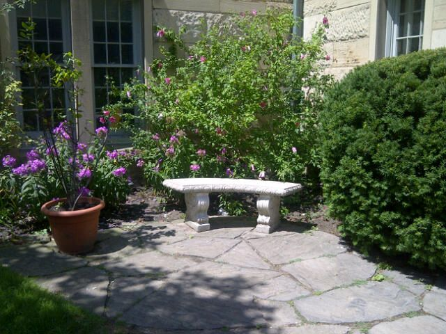 A quiet spot at University of Toronto St. George campus