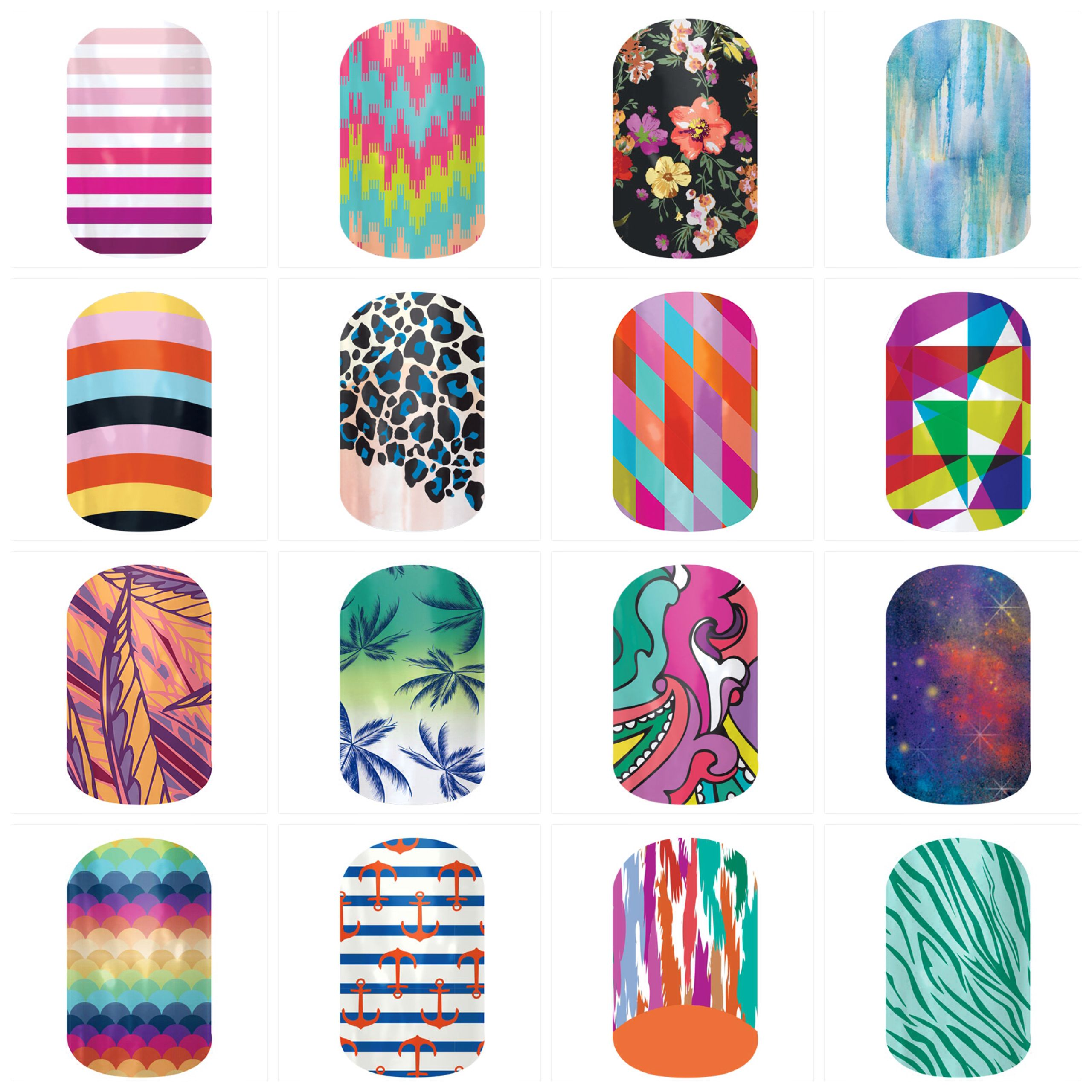 New designs from the 2014 Spring/Summer Jamberry Nail catalog. Check ...