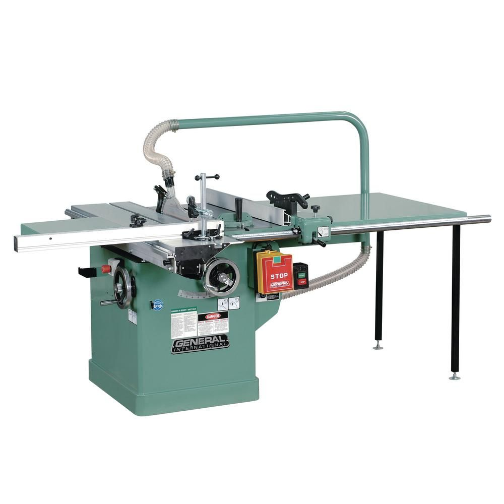 General International 12 Amp 10 In Scoring Saw With Built In Sliding Table 50 560a M1 The Home Depot