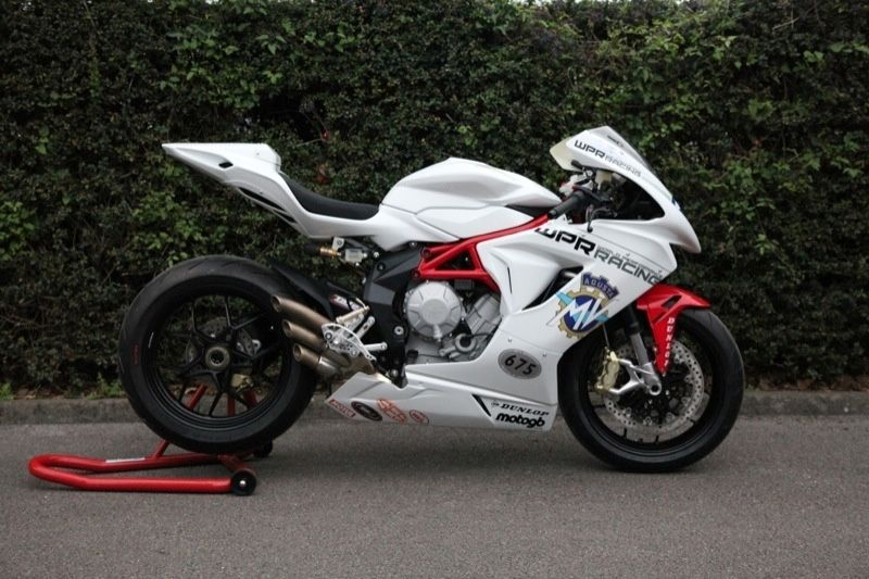 First Race Prepared Mv Agusta F3 Unveiled Motorcycles