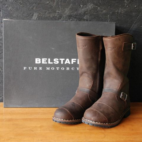 The Belstaff Endurance Boots are a motorcycle boot ...