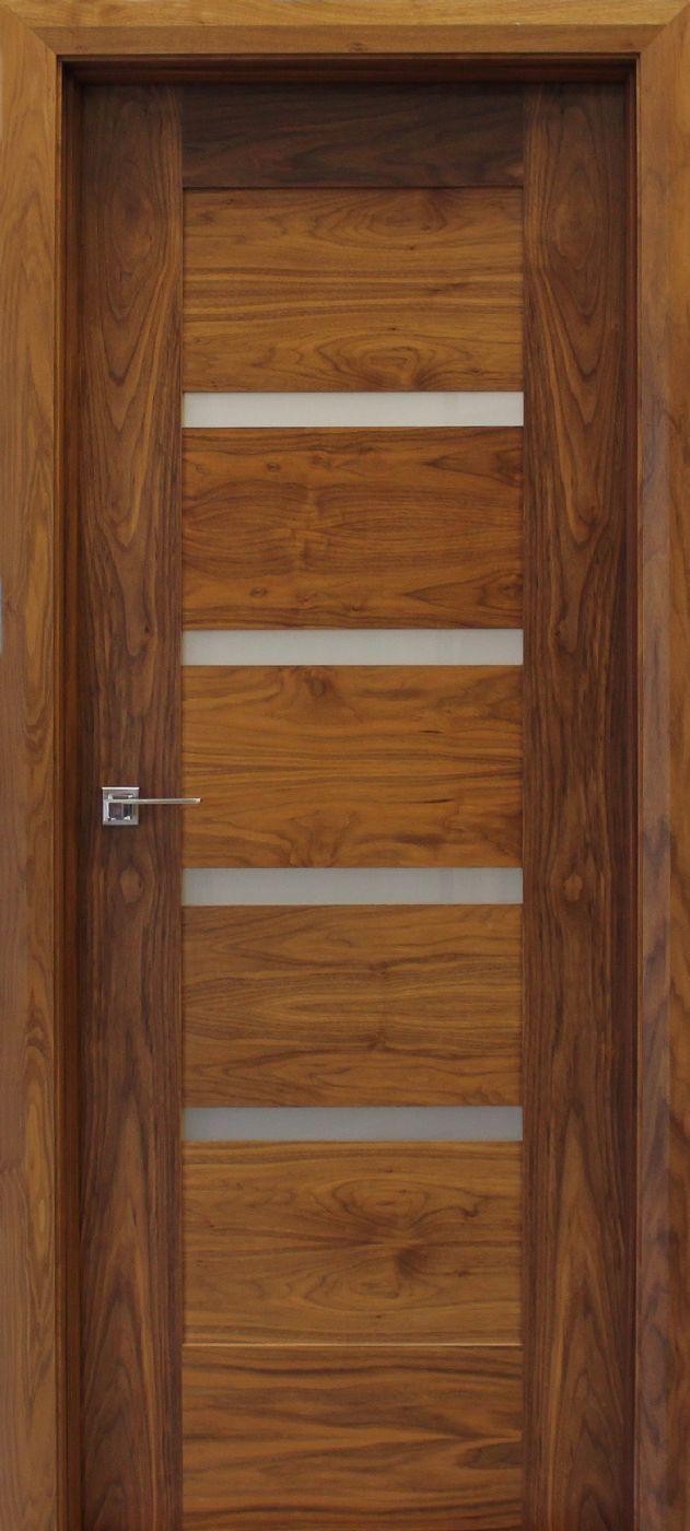 Shaker Vision 40mm Walnut Doors Contemporary Doors Wood Front Doors