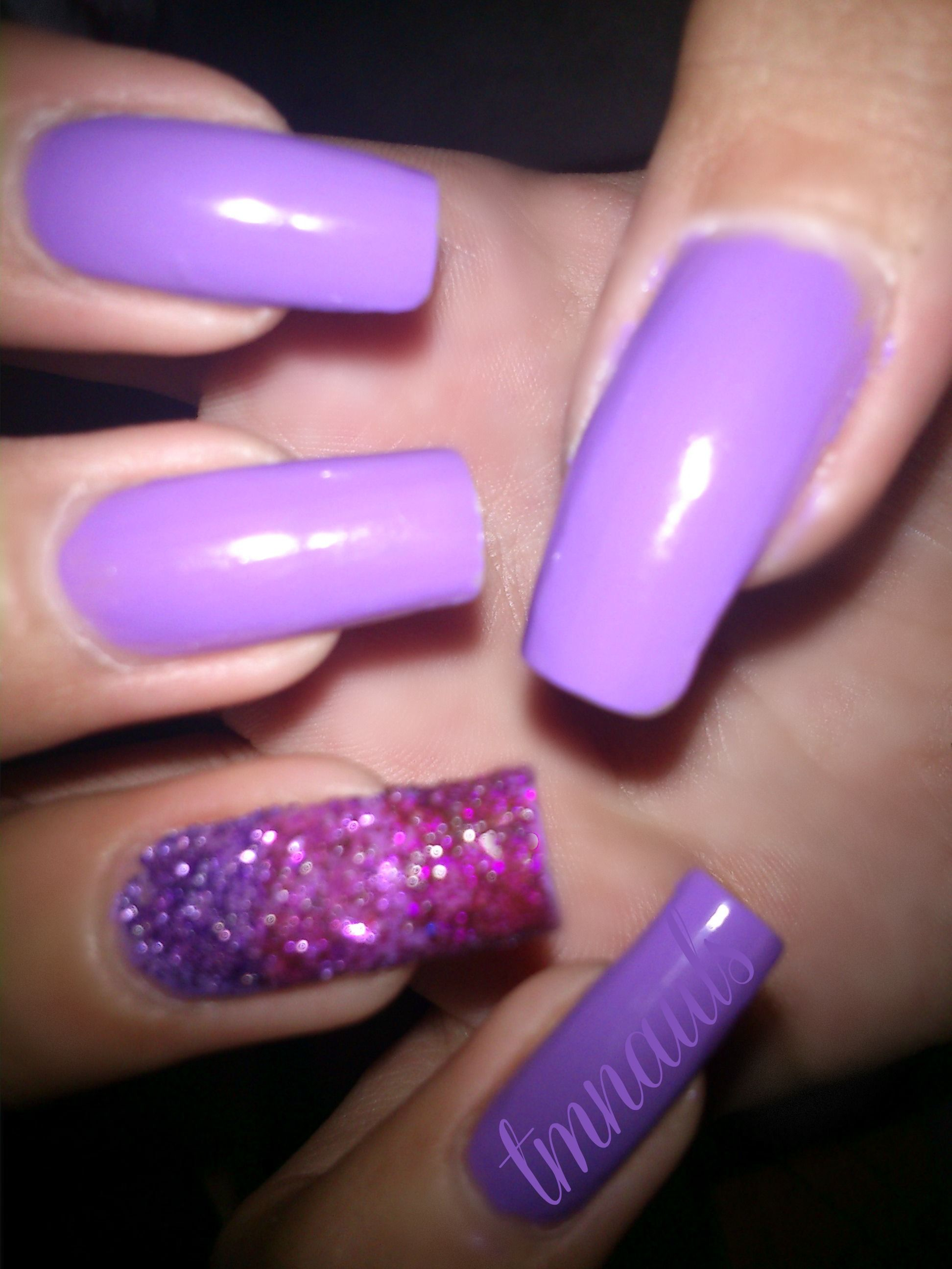 I love the purple . And it's so simple . (: | Nail art ...