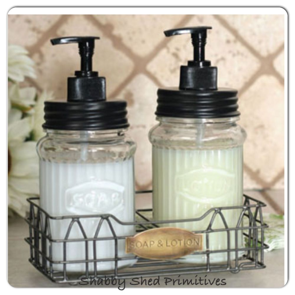 Hoosier Soap Lotion Dispenser With Wired Caddy Available At Www