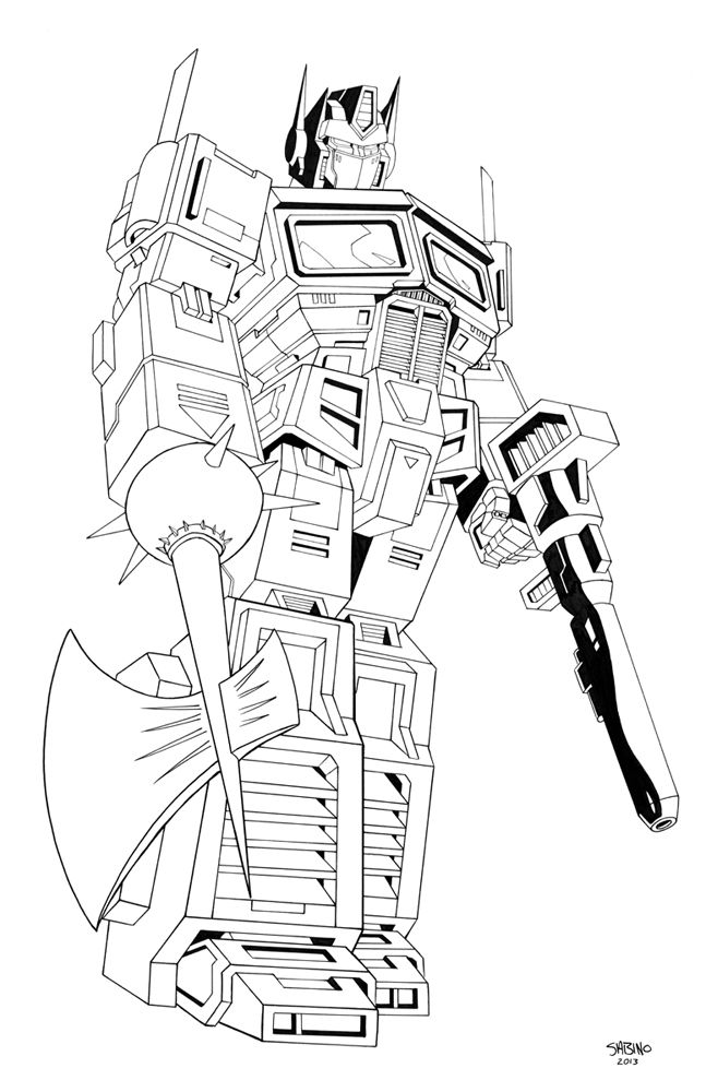G1 Optimus Prime Transformers Coloring Pages Coloring Pages For Boys Optimus Prime Wallpaper Transformers