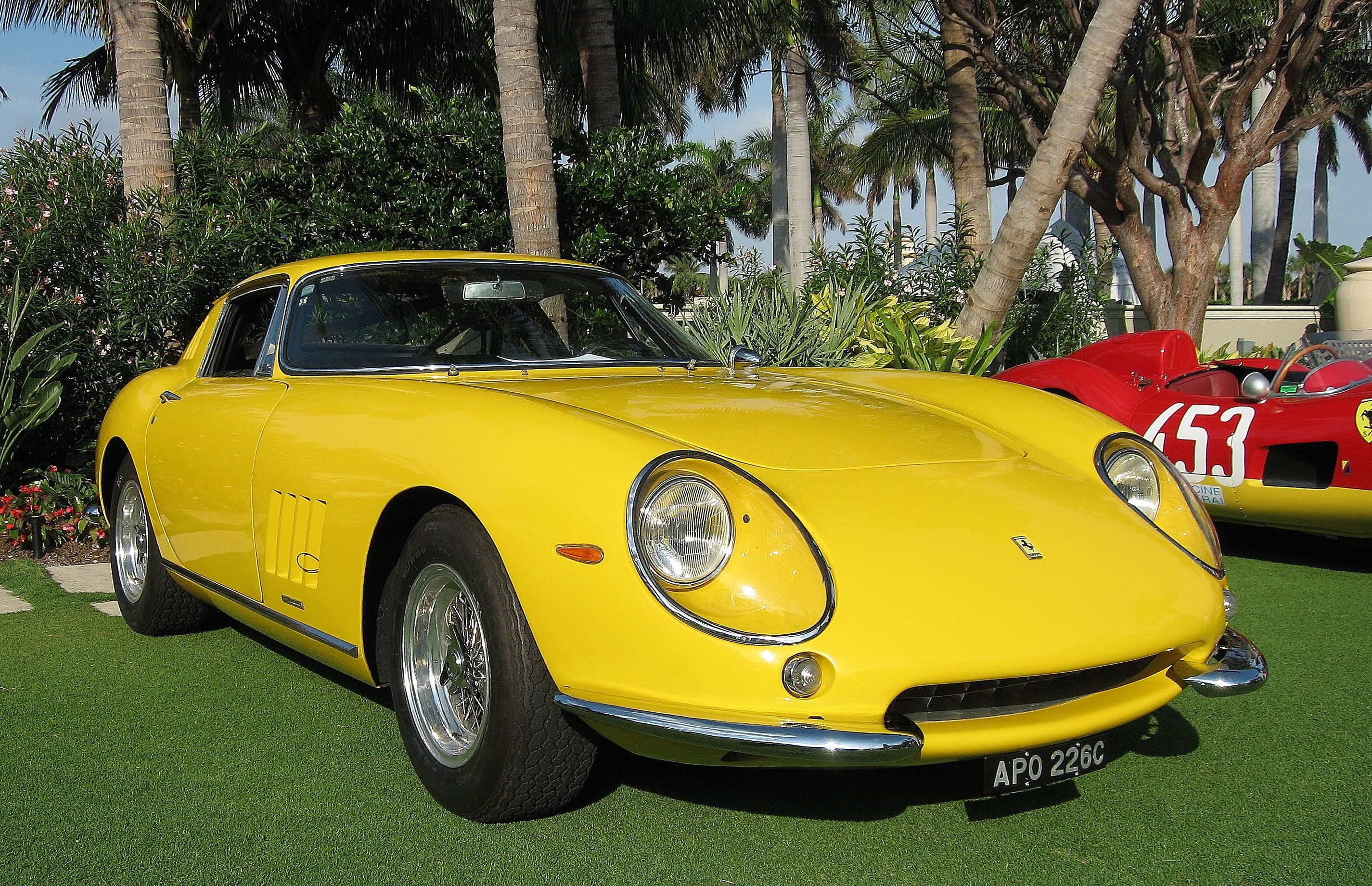 Getting into the spirit for the best ferrari event of the year the palm beach cavallino classic cars from past events