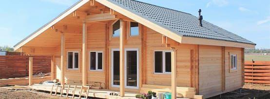 Etonnante Maison De Bois Pas Chère! | Maisons En Bois, Construire Et En Bois