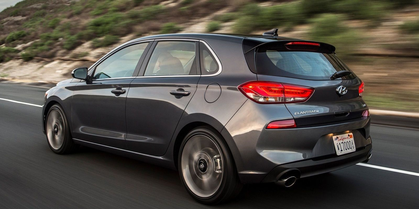 The 2018 Hyundai Elantra GT Sport Is a 201HP Nurburgring