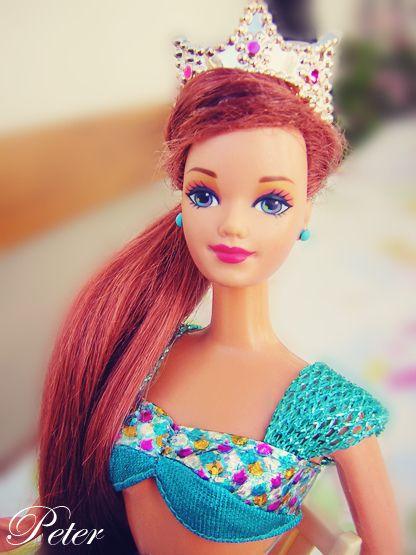 Jewel Hair Mermaid Midge | oh that takes me back ...