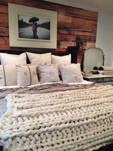 Chunk Knit Wool Blanket  http://onehorselane.com