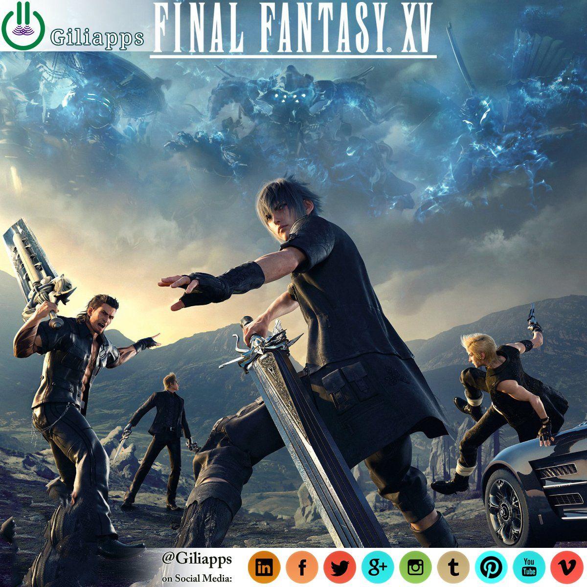 Final Fantasy Xv Pc Kommer Slappa Pa 06 Mar 2018 Final Fantasy