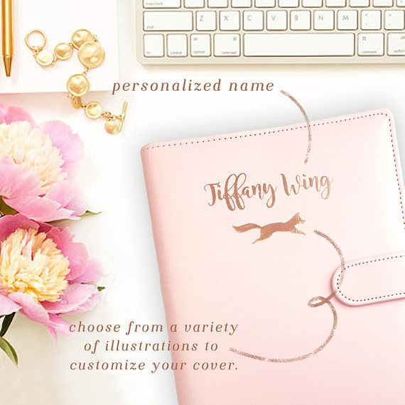Custom Name Planner Binder