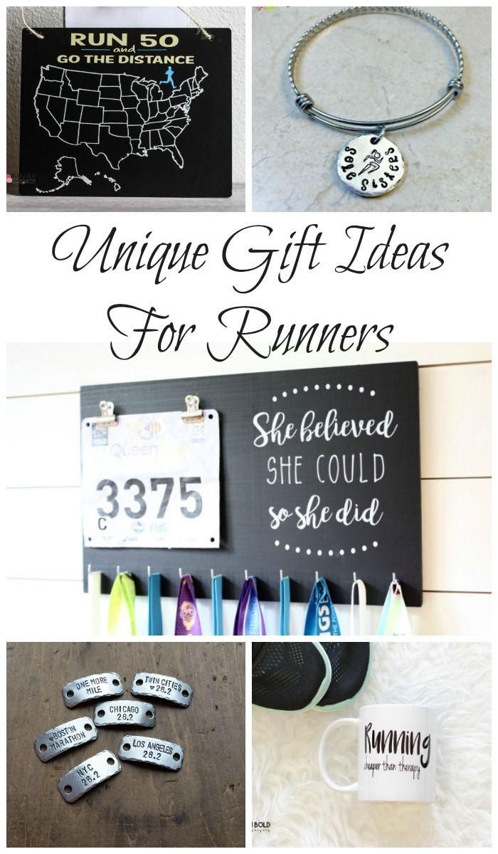 Unique Gift Ideas For Runners #giftguide #runnersgifts #runners ...