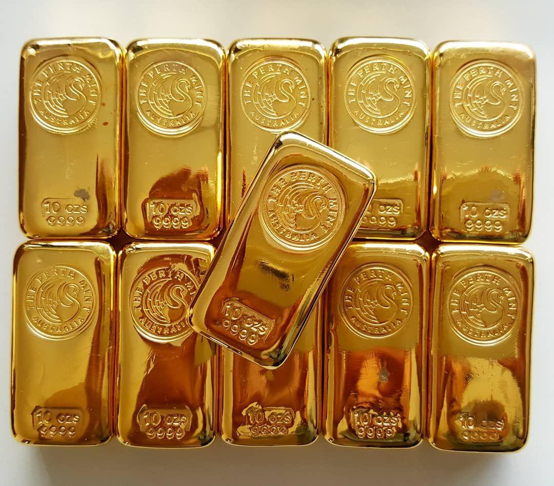 110oz Of Pure Gold Cast Bullion Bars 9999 Goldbars Bullion Goldbullion Puregold Preciousmetals Per In 2020 Gold Bullion Bars Gold Bullion Coins Gold Money