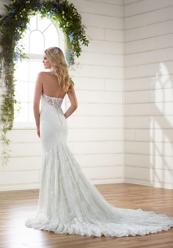 Essense of Australia D2203 Sheath Wedding Dress | Weddings | Pinterest