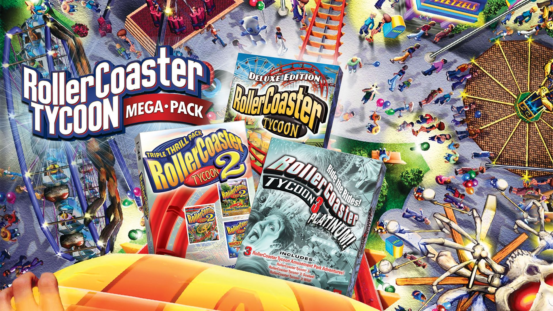 Rollercoaster tycoon 2: triple thrill pack game download for pc.