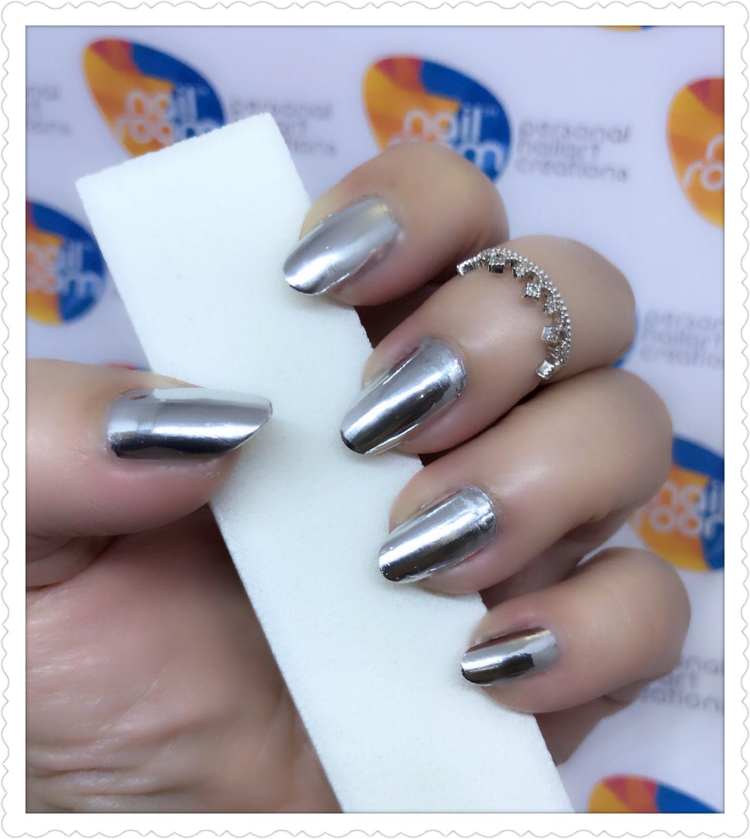 Mirror polish nails. Products used - Born Pretty Mirror Polish | DIY ...