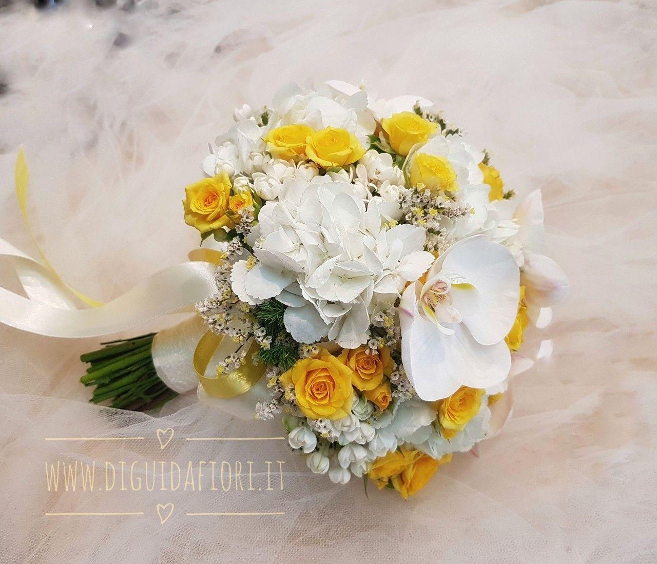 Bouquet Sposa Bianco E Giallo.Bouquet Da Sposa Bianco E Giallo Con Immagini Bouquet Mazzi