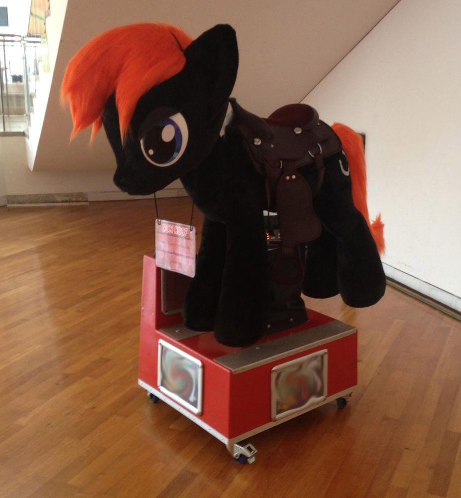 Kiddy Ride Pony Pferd Horse Plüsch Sattel SCHAUKELAUTOMAT MLP ...