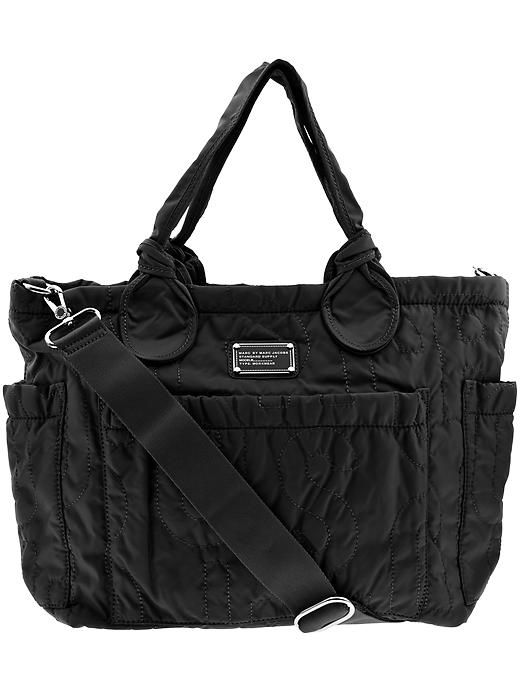 9695901d3c6317 Marc by Marc Jacobs Pretty Nylon Eliza Baby Handbag - Black - Best Diaper  Bag Ever