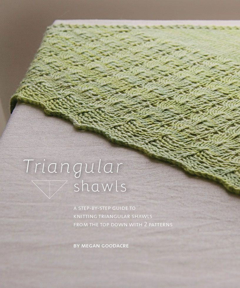 Triangular Shawls: a step by step guide | Tejido a mano ...