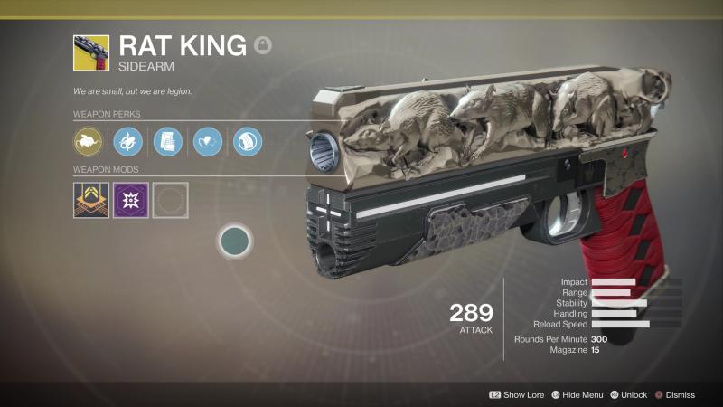 Destiny 2 exotic weapon rat king sidearm httpift2wsyf6a destiny 2 exotic weapon rat king sidearm httpift malvernweather Images