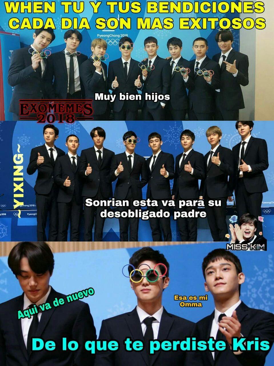 Pin De Narcissa Park En Memes Exo Memes Exo Memes Coreanos Memes Graciosos