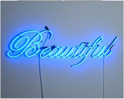 beautiful blue neon neon signs pinterest neon neon lighting and lights. Black Bedroom Furniture Sets. Home Design Ideas