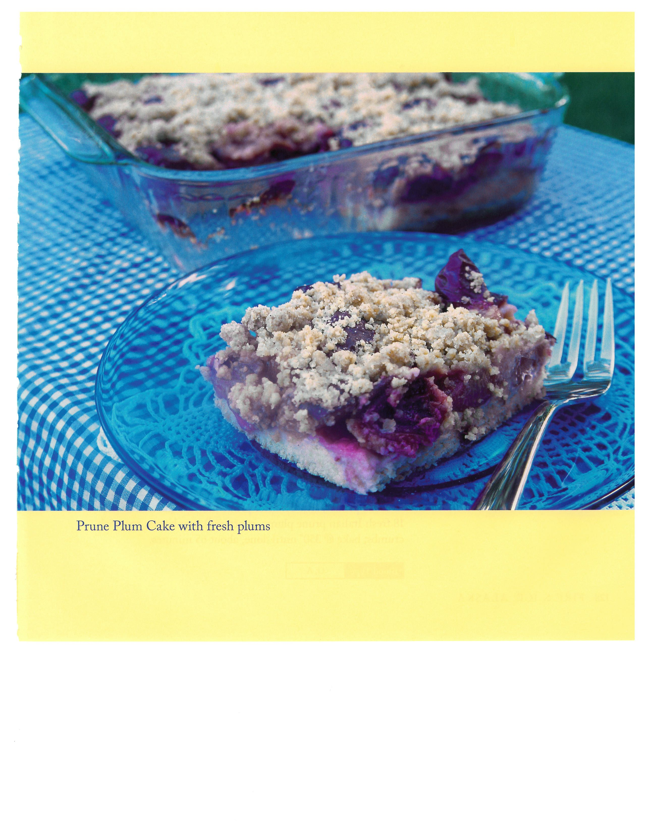 Prune Plum Cake- this is a classic German kuchen. The fruit of ... | {Classic küchen 31}