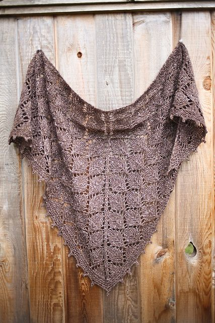 Ravelry: The Elder Tree Shawl pattern by Sylvia Bo Bilvia. Another gorgeous pattern akin to The Lonely Tree Shawl