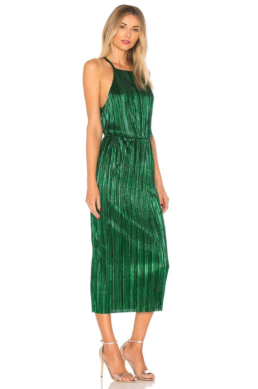 8c629c89d09e House of Harlow 1960 x REVOLVE Farrah Dress in Emerald | REVOLVE ...